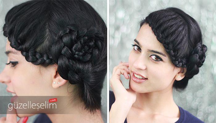 """""""Retro Saç Modeli Nasıl Yapılır?"""" videomuzu izlemek için: http://www.guzelleselim.com/retro-sac-modeli.html #retro #hair #style #fashion"""