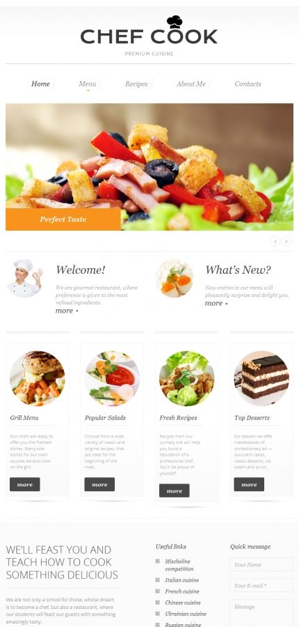 31 best food website templates images on pinterest food website website for online food ordering food website cms forumfinder Choice Image