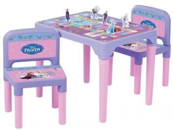 Mesa com 2 Cadeiras e Jogos Frozen Disney - Multibrink
