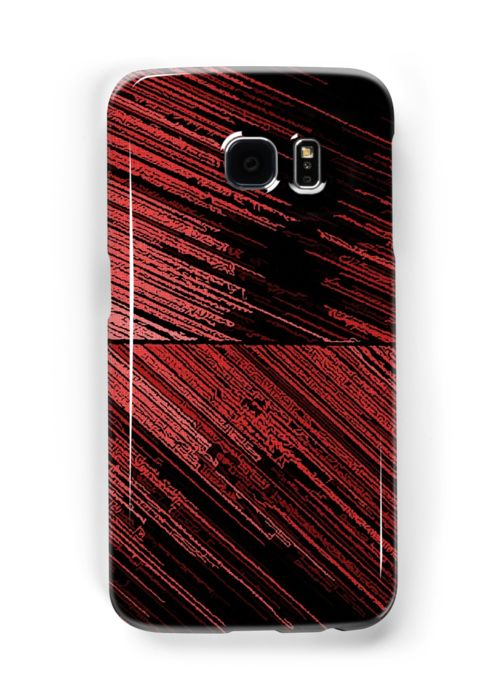Line Art - The Scratch, red Samsung Galaxy Cases & Skins by cool-shirts   Also Available as T-Shirts & Hoodies, Men's Apparels, Women's Apparels, Stickers, iPhone Cases, Samsung Galaxy Cases, Posters, Home Decors, Tote Bags, Pouches, Prints, Cards, Mini Skirts, Scarves, iPad Cases, Laptop Skins, Drawstring Bags, Laptop Sleeves, and Stationeries #samsung #galaxy #case #skin #trending #red