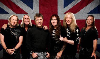 """La banda de heavy metal británica Iron Maiden dedican la canción """"Tears of a clown"""" de su nuevo disco """"The Books of souls al actor Robin Williams."""