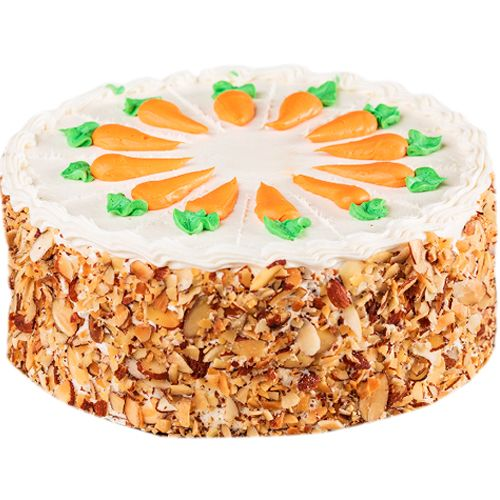 This almond delightful cool cake is beautifully decorated with almonds and is quite a treat. Send cakes online Shop2Nellore.com and convey best wishes to your loved ones. Our cakes are ideal for all occasions especially suited for birthdays. You can choose any flavour with your own choice. Surprise your loved ones with this thoughtful gift on their special day.