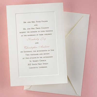 42 Best Invitations For Weddings And Parties Images On Pinterest
