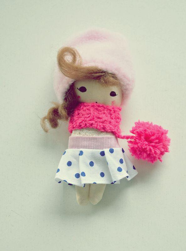 Małgorzata Kołaczyńska-Strzelecka, Zabawkarstwo,  http://polandhandmade.pl #polandhandmade, #smalldoll, #doll, #kieszonkowalalka