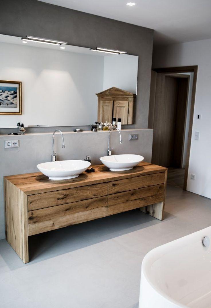 49 Rustikal Badezimmer Ideen Aufbewahrung 2019 In 2020 Badezimmer Bodenbelag Fur Badezimmer Sichtestrich