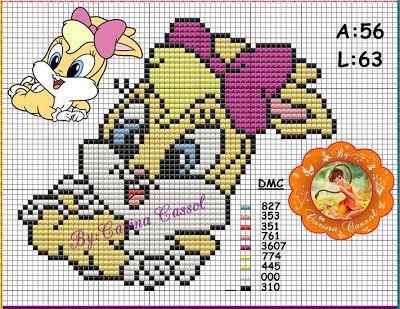 Magic dots: Graphics Monica and Lola Baby.