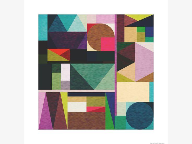 KAKU MULTI-COLOURED Paper 60 x 60cm print by Fimbis - HabitatUK  #fimbis #Habitat #Eastendprints #abstract #wallart #geometric #pattern #green #purple #pink #lilac #fashion #fashionblog #fashionblogger #home #interiors #interiordesign #style #styleblog #dorm #dormlife #irish