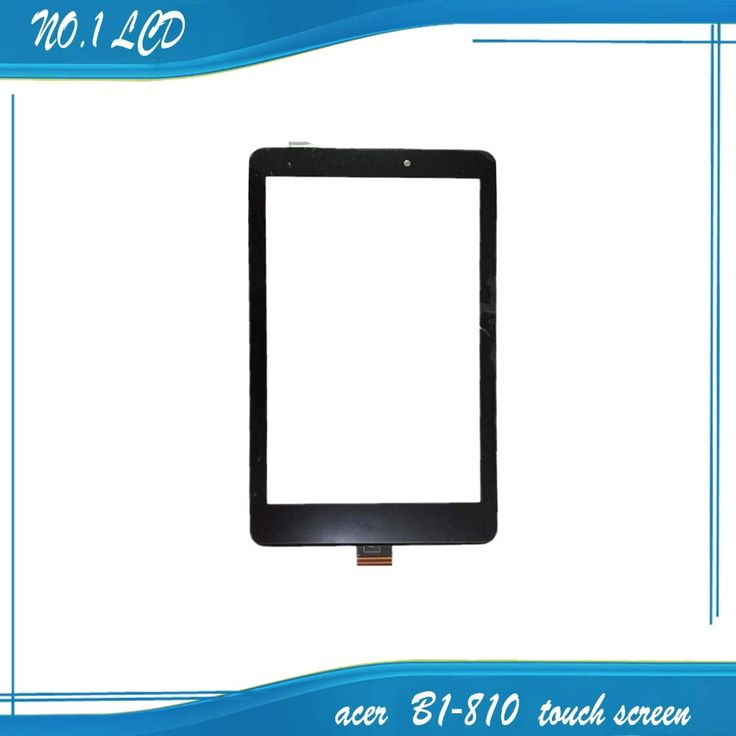 8 inch For Acer Iconia One 8 B1-810 Touch Screen Digitizer Glass Lens Capacitive Handwritten Panel With Logo
