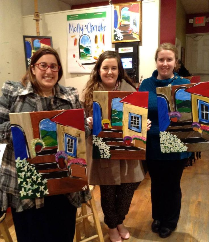 701 best customer fun images on pinterest boston for Wine and paint boston