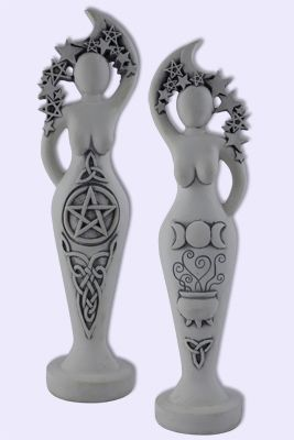 """Seen on the blog site """"The Oddly Normal Life of a Pagan Mom"""" Pentacle Goddess by Abby Willowroot as shown on SacredSource.com"""