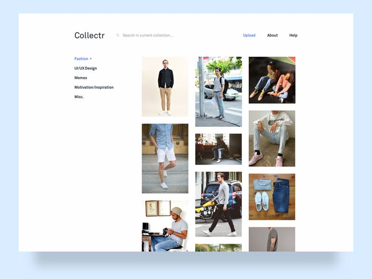 Collectr - Image Collection App [WIP] by Lucas Lee-Tyson