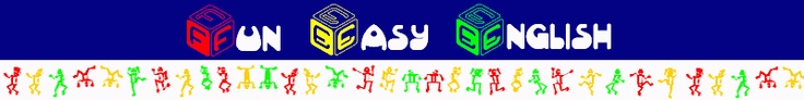 Fun Easy English - Learn English online for free, classroom, pronunciation, grammar, idioms, slang, reductions, contractions, conversation, alphabet writing, videos, student newsletter, teacher newsletter, activities, tv, radio, tests, surveys, facts, travel abroad, travel America, drive America, study America, student resources, teacher resources, google gadgets, regional english teaching job boards, english language schools, employment agencies, dictionary.