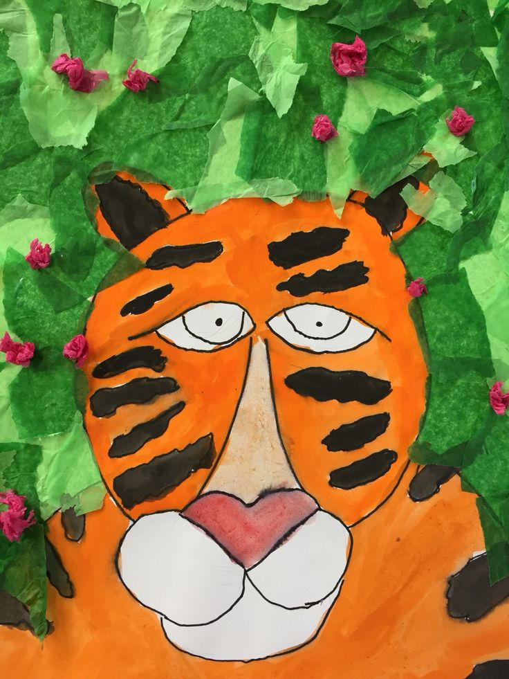 T is for Tiger- Grade 4.