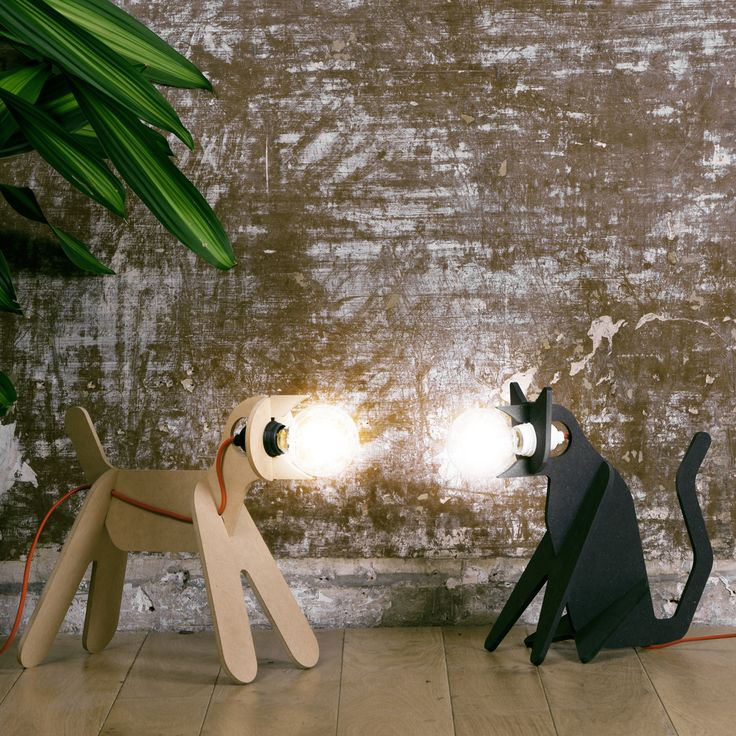 GET OUT! - Lighting Design - The GET OUT lamp is one of your favorite product created by ENOstudio and probably the perfect pet!