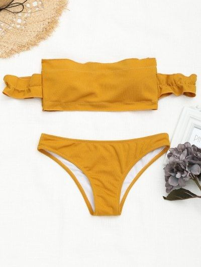 GET $50 NOW | Join Zaful: Get YOUR $50 NOW!https://m.zaful.com/off-the-shoulder-ruffles-ribbed-bikini-p_407052.html?seid=6052621zf407052
