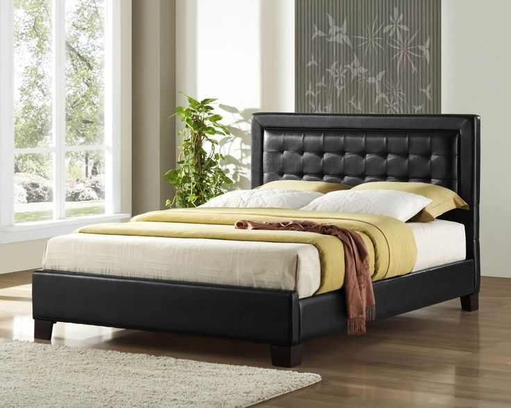 home elegance landon collection california king platform bed 5787k 1ck - Cal King Platform Bed Frame