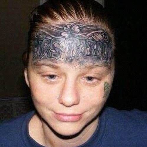 29 Hilariously Awful Face Tattoos What Were They Thinking Offbeat