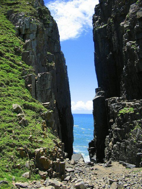 Near Hole in the Wall Transkei South Africa - Photo: J Rosskilly
