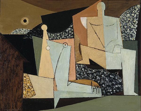 Louis Marcoussis, Figure on a Beach