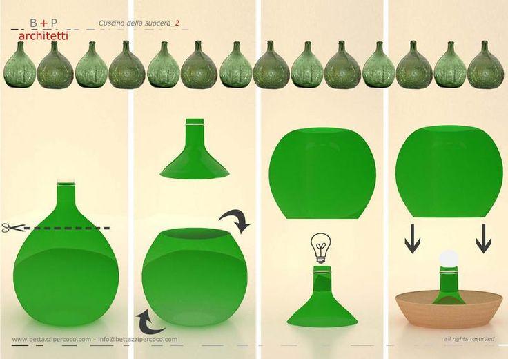 damigiane lampade - Cerca con Google