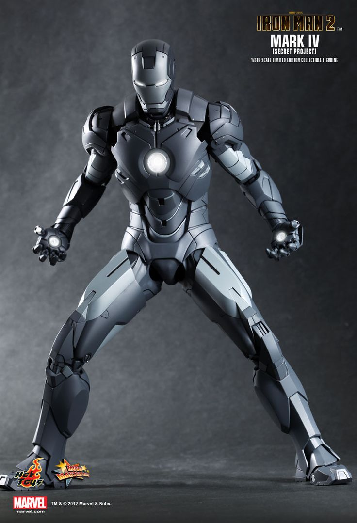 Sideshow collectibles and hot toys are proud to present the scale mark iv limited edition collectible figurine secret project from the iron man 2 movie as