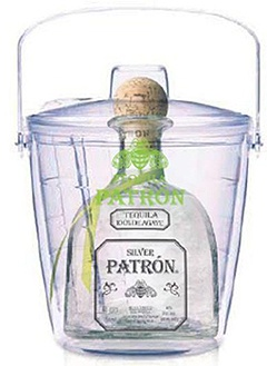 Patron Silver Tequila Gift Set with Ice Bucket, $180.00 #tequila #1877spirits #gifts