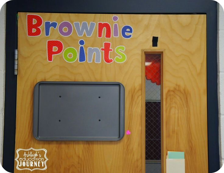 Great classroom management strategy with brownie points equalling classroom rewards!