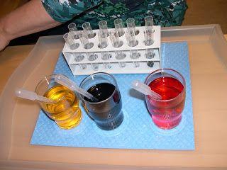 Mit einem Farblabor können Kinder nach Herzenslust   experimentieren und Farben mischen.     Die Kinder finden so heraus, dass sich aus d...