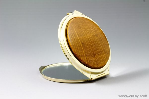 Compact with Sheoak Inlay.