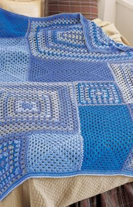 All Angles Throw, Crochet pattern free download.  If you like something different, this may be the one.