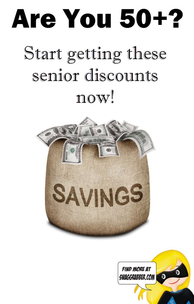 """You don't have to be a senior to get the """"senior"""" discount anymore, a lot of places are offering discounts for those as young as 50! The trick is you have"""