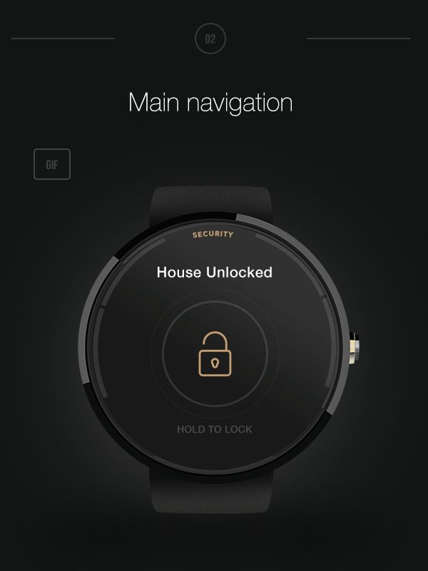 Lachesis is a Android Wear App concept that allows Smart Home owners to  extend their experience in house management.Wherever you are, you stay in control.