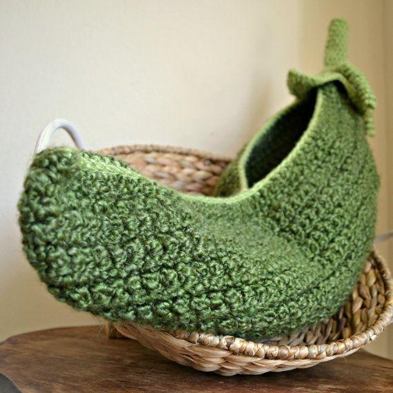 Pea Pod Cocoon Crochet Pea Pod Crochet Cocoon By