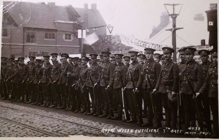 7th Battalion, The Royal Welsh Fusiliers.