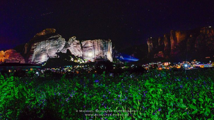 https://flic.kr/p/VtvhYq | Meteora_MSC8202_3_4.jpg | Kalambaka at night - Meteora, Greece © Michael Schultes Photography - www.schultes-photo.de