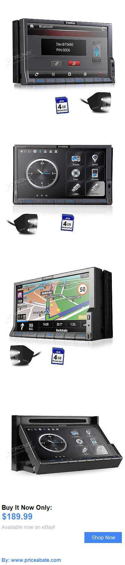 Vehicle Electronics And GPS: 7 Touch Gps Navigation 2Din 1080P Hd Car Stereo Dvd Player Bluetooth Mp3 Camera BUY IT NOW ONLY: $189.99 #priceabateVehicleElectronicsAndGPS OR #priceabate