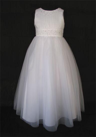 """Φορέματα για Παρανυφάκια - Επίσημα Φορέματα για Κορίτσια :: Πανέμορφο Παιδικό Φόρεμα για Παρανυφάκι ή Πάρτυ σε Λευκό ή Ιβουαρ """"Jessie"""" - http://www.memoirs.gr/"""