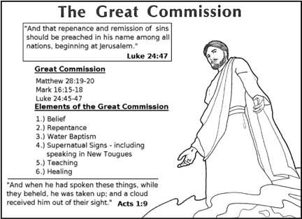 Lesson 7- The Great Commission