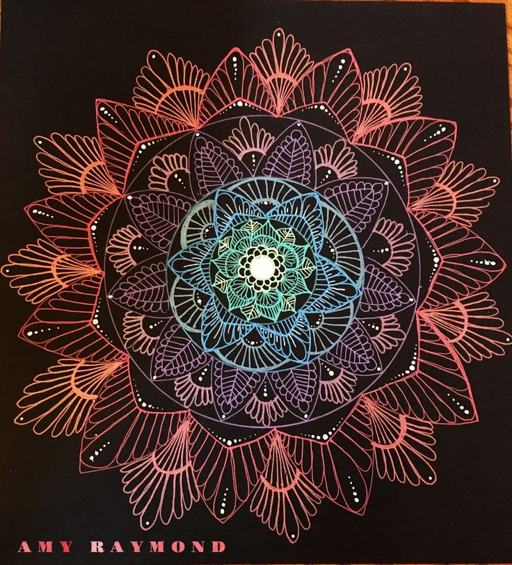 #mandala #sketch by Amy Raymond 2/26/17. #pigma #bw #doodle #inkart #mixedmedia #art #artismytherapist #zen #draw #tangle #gellyroll
