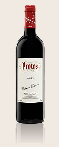 Protos Joven Roble is a very nice young wine from Ribera del Duero. It's not too expensive either, a bottle costs about 6-7 €.