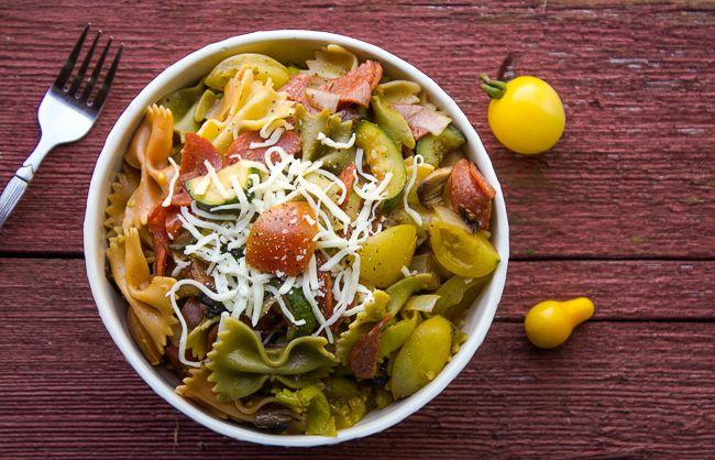 Italian Pasta Salad | Horses & Heels