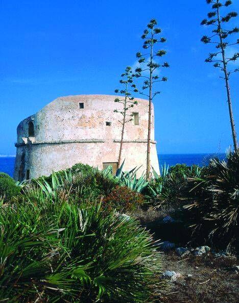 Alghero - torre di Capo Galero o del Lazzaretto