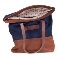 FREEDOM OF MOVEMENTS THE ROLL-TOP NAVY BAG