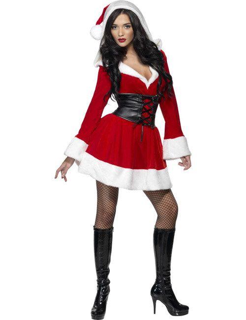 Heisse Weihnachtsfrau Damenkostüm Weihnachten rot-weiss aus der Kategorie Karnevalskostüme / Weihnachtskostüme. In Gegenwart dieser attraktiven Weihnachtsfrau wundert man sich nicht, dass die Wichtel so fleißig arbeiten...