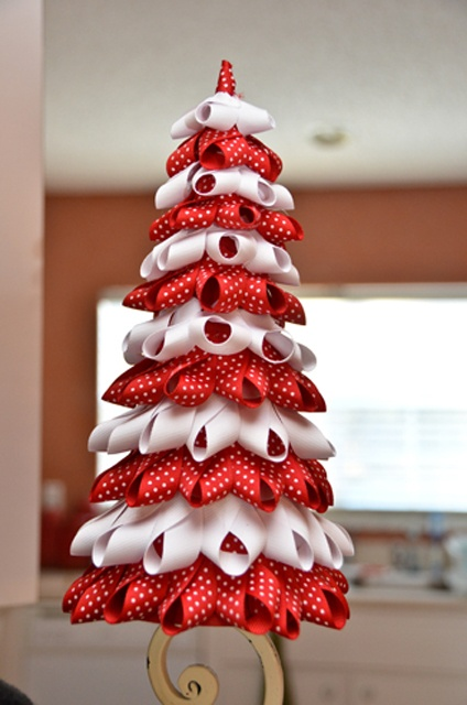 17 Best images about Valentines Ribbon Trees & Topiary on ...