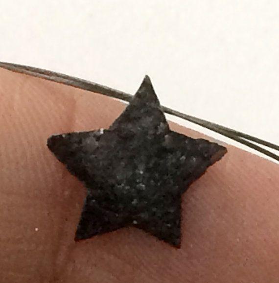 11mm Black Star Rough Diamond Black Star Diamond by gemsforjewels