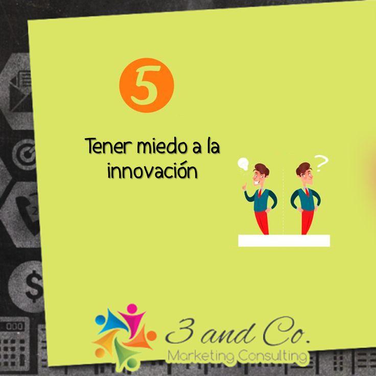 Tener miedo a la innovación #marketing #empresa