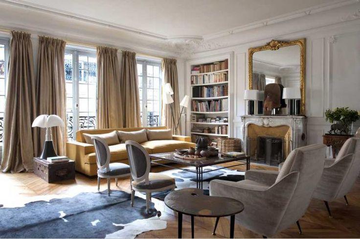 Antoine d'Albiousse  #interior #design #fabric #style #destombe