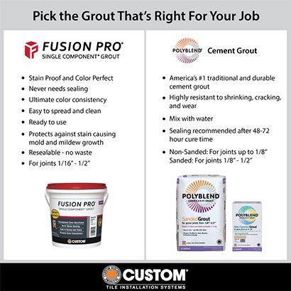 Custom Building Products Fusion Pro #381 Bright White 1 Gal. Single Component Grout-FP3811-2T - The Home Depot