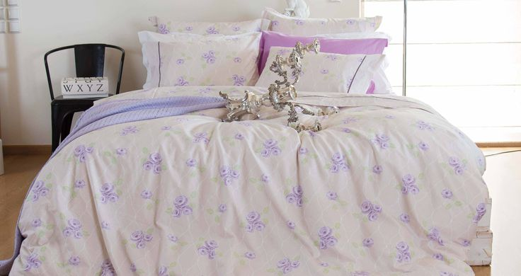 Chic desings bring a new air to your bedroom. Discover your favorite linens in www.kazakidis.gr